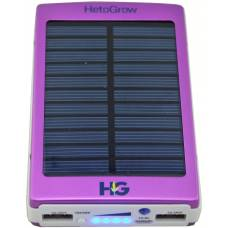 Solar Power Bank 10000 mAh Purple