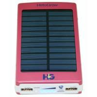 Solar Power Bank 10000 mAh Red