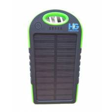 Solar Power Bank 4000 mAh Green and Black