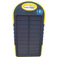 Solar Power Bank 4000 mAh Yellow and Black