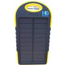 Solar Power Bank 4000 mAh Yellow and Black