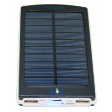 Solar Power Bank 6000 mAh Black