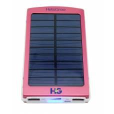 Solar Power Bank 6000 mAh Red