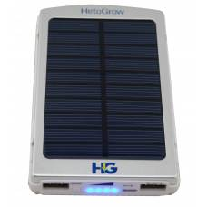 Solar Power Bank 6000 mAh Silver