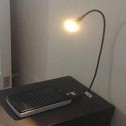 Solar power bank +bedside lamp