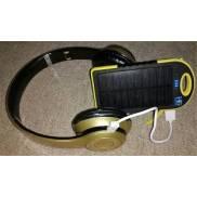 Solar power bank Y&B + headphones