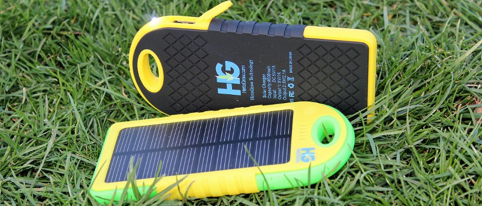 Power Bank Solar Charger by HetoGrow